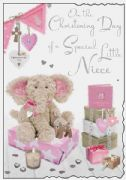 Niece Christening Card